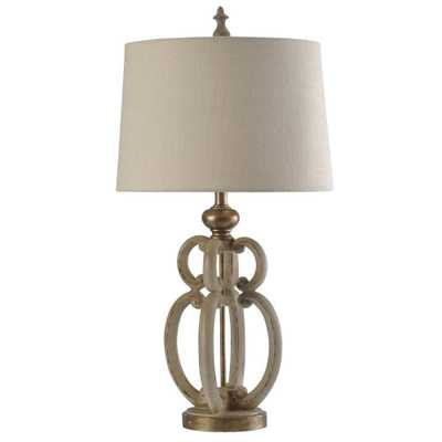 Table Lamp Cream (Ivory) (Includes Light Bulb) - StyleCraft - Target