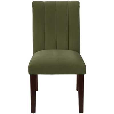 Channel Seam Dining Chair Regal Moss (Green) - Skyline Furniture - Target