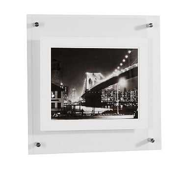 Acrylic Gallery Frame, Silver - 30X30 - Pottery Barn