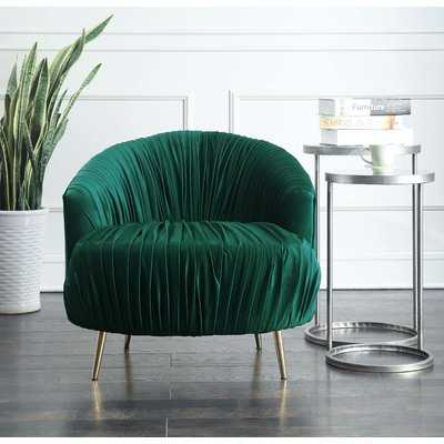 Nouvelles Barrel Chair - Wayfair