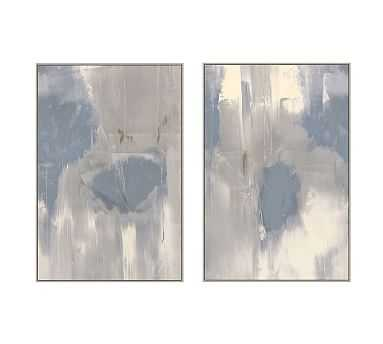 "Misted Framed Canvas, Set of 2, 33"" x 49"" - Pottery Barn"