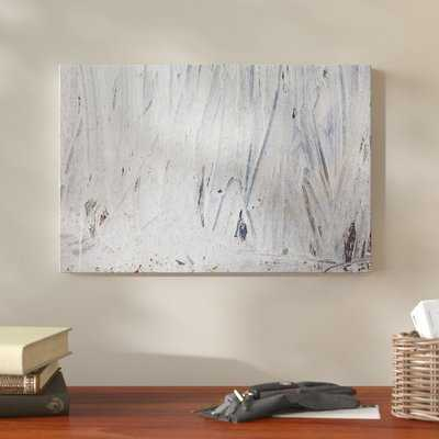 'Maonsy Blue' Oil Painting Print on Wrapped Canvas - Wayfair