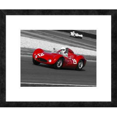 Historical race-cars' by Gasoline Images Framed Graphic Art - Wayfair