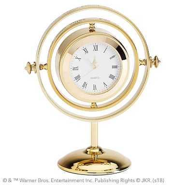 HARRY POTTER(TM) TIME TURNER(TM) Clock, Gold - Pottery Barn Teen