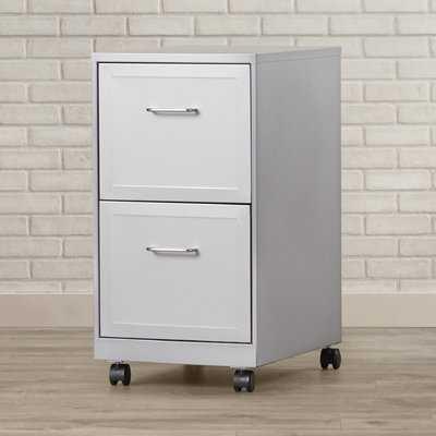 Forest 2 Drawer Mobile Vertical Filing Cabinet - Wayfair
