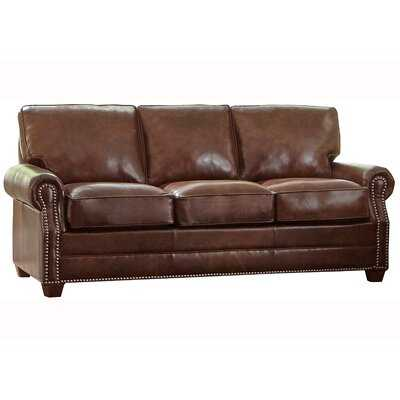Lyndsey Leather Sofa Bed - Wayfair