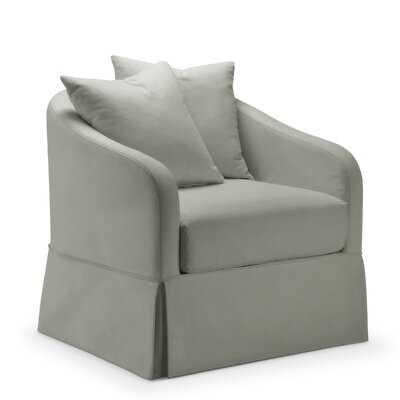 Chaffin Slipcover Swivel Barrel Chair - Wayfair