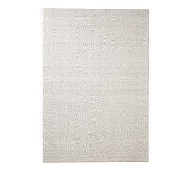 Lucca Synthetic Rug, 8 x 10', Gray Multi - Pottery Barn