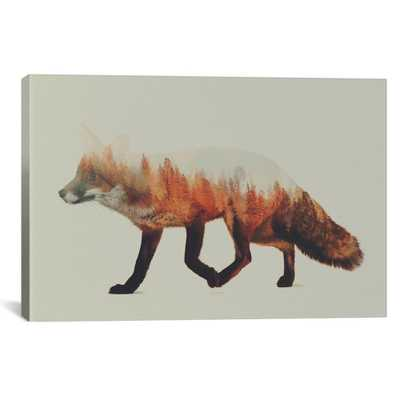 Fox I by Andreas Lie Canvas Wall Art, Multi - Home Depot