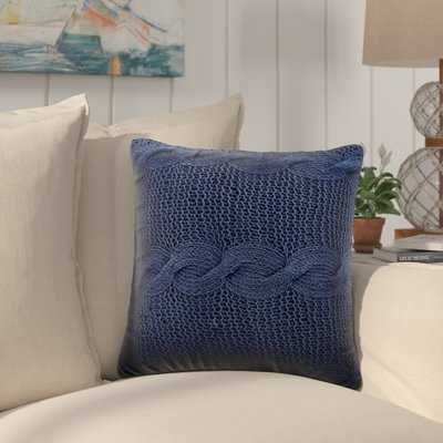 Hutchins Cable Knit Throw Pillow - Birch Lane