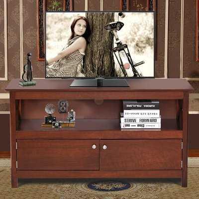 Amdt Storage Media Center 44'' TV Stand - Wayfair