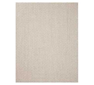 Diamond Sisal Rug, Taupe, 12 x 9 - Pottery Barn