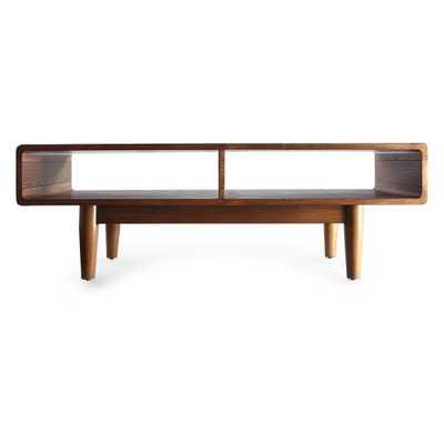 Dexter Mid - Century Coffee Table - Deco Walnut (Brown) - Haven Home - Target