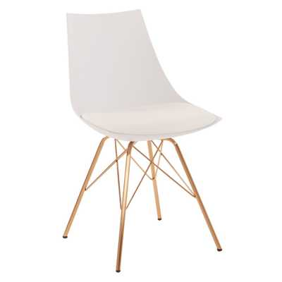 Oakley Chair - White - Ave-Six - Target