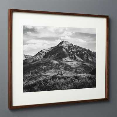 Gallery Walnut Frame with White Mat 18x24 - CB2