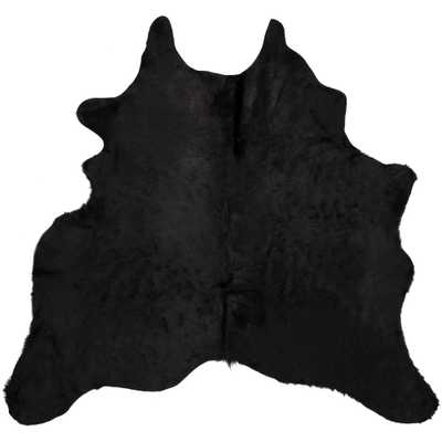 Cow Hide Black/Brown 6 ft. x 7 ft. Area Rug - Home Depot