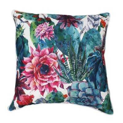 Cassady Succulent Throw Pillow - Wayfair