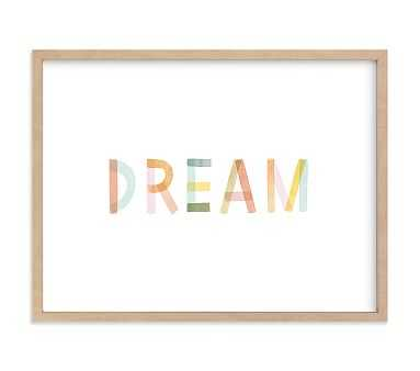 Dreaming in Color Wall Art by Minted(R), 24x18, Natural - Pottery Barn Kids