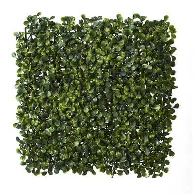 Artificial Boxwood Grass tiles (Set of 24) - Wayfair