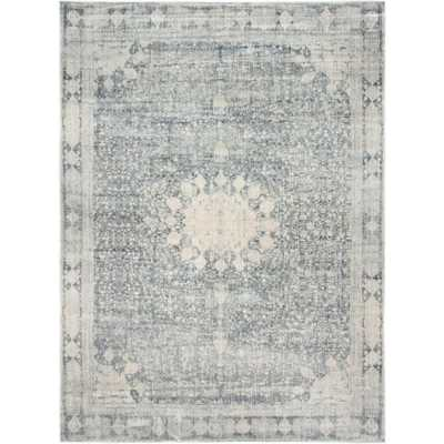 Asheville Gray 9' x 12' Rug - Home Depot