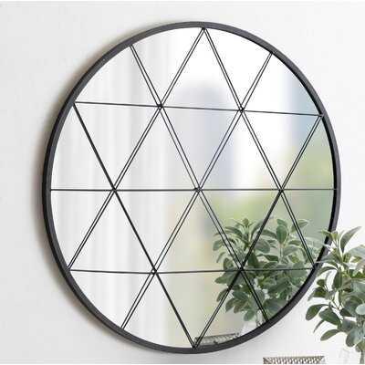 Valdeze Round Accent Mirror - Wayfair
