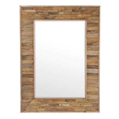 Helgeson Organic Wooden Mirror - Birch Lane