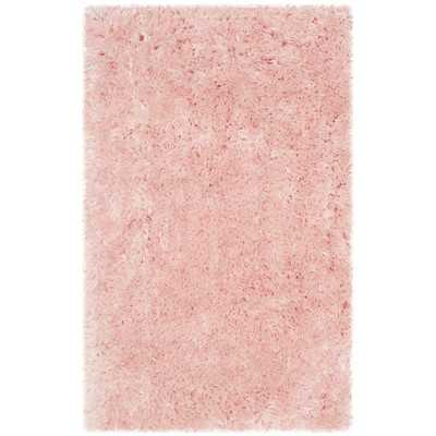 Dax Shag Hand-Tufted Pink Area Rug - Wayfair