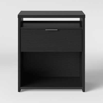Nightstand Black - Made By Design - Target