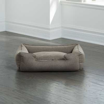 Lounge Groundhog Small Dog Bed - Crate and Barrel