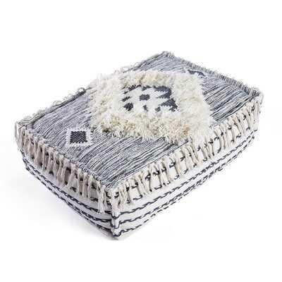 North Brookfield Wool Floor Cushion - Wayfair