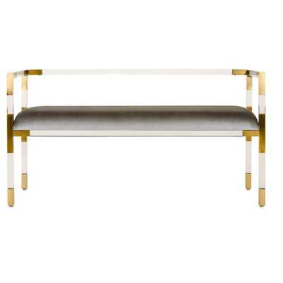 Benches Brass - Safavieh, Benches - Target