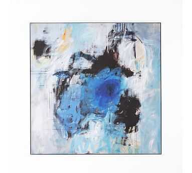 """Give Up To Grace Framed Canvas, 48"""" x 2"""" x 48"""" - Pottery Barn"""