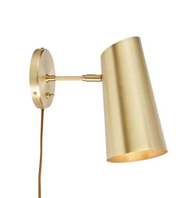 Cypress Small Sconce Plug-In - Rejuvenation