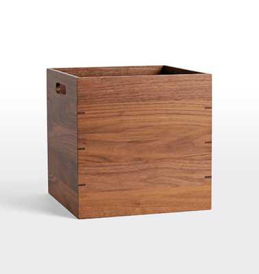 Walnut Storage Box - Rejuvenation