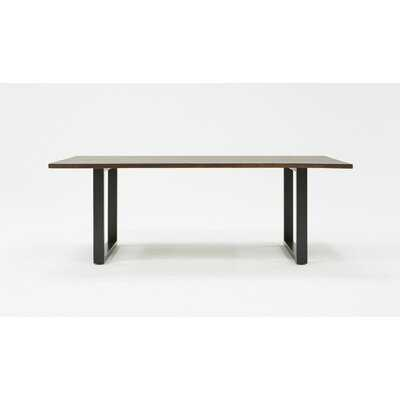 Tennille Modern Live Edge Dining Table - Wayfair