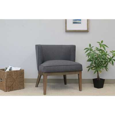 Slate Grey Ava Accent Chair - Home Depot