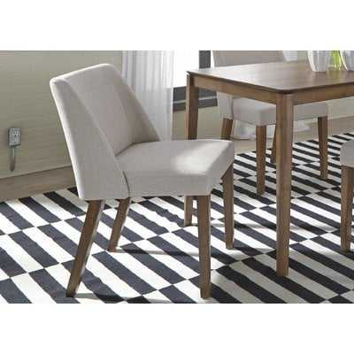 Grimmer Upholstered Dining Chair (Set of 2) - Wayfair