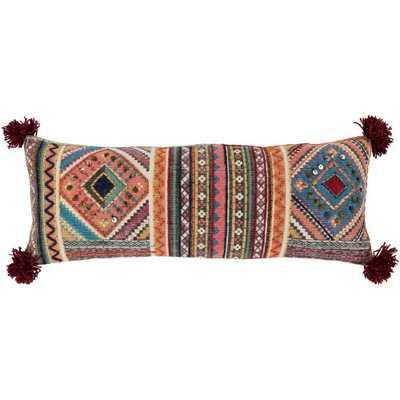 Zuan Poly Standard Pillow, Pink - Home Depot