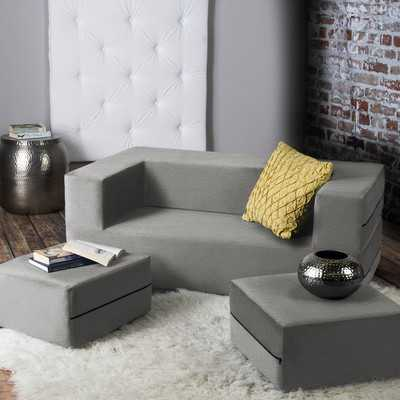 Eugene Modular Loveseat & Ottoman Sleeper - Wayfair
