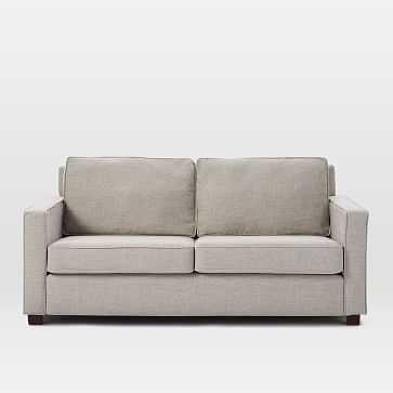 "Henry 76"" Sofa, Twill, Gravel - West Elm"