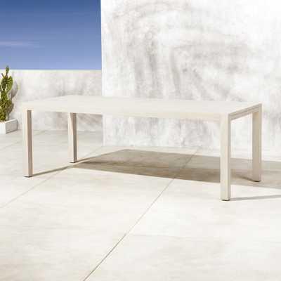 Matera Whitewash Large Dining Table - CB2