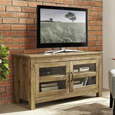 "Flavio 44"" Wood TV Stand for TVs up to 48 - Wayfair"