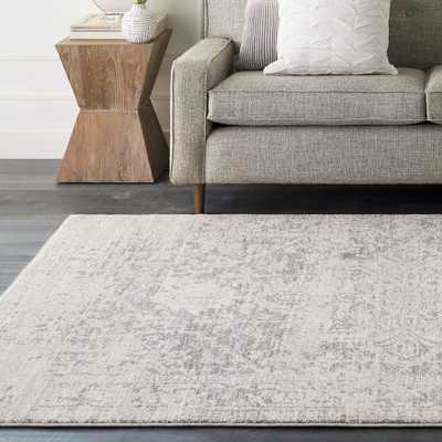Hillsby Gray/Beige Area Rug - 10' x 14' - Wayfair