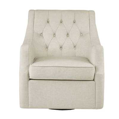 Cassie Swivel Chair Tan, Accent Chairs - Target