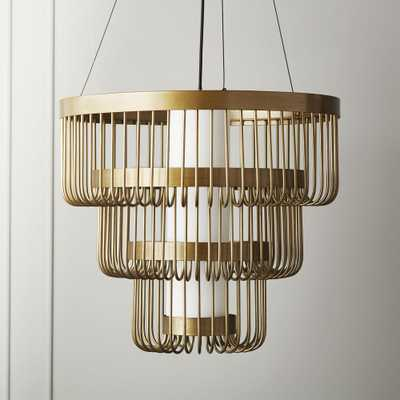 Tarte Tiered Chandelier - CB2
