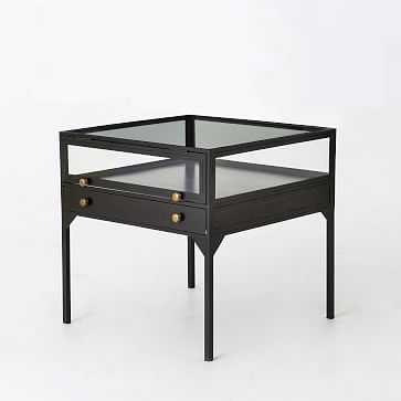 Shadow Box Side Table - West Elm