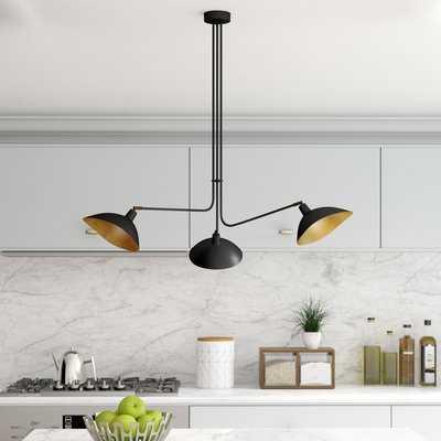 Utica Metal 3-Light Design Pendant - Wayfair