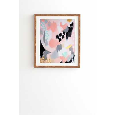 Serenity Abstract Framed Painting Print - Wayfair