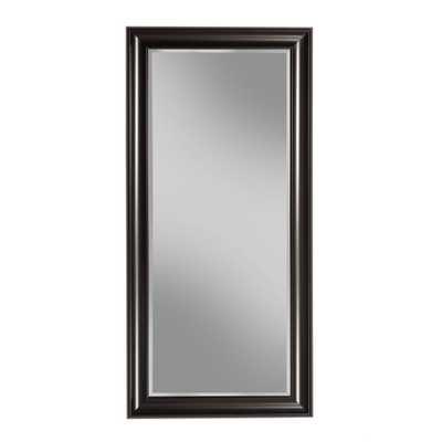 Black Full Length Leaner Floor Mirror - Home Depot