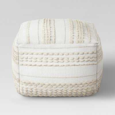 Lory Pouf Neutral Textured - Opalhouse - Target